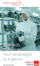 Brochure Research & Development in Austria