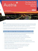 Info-Sheet: Start-ups in Austria