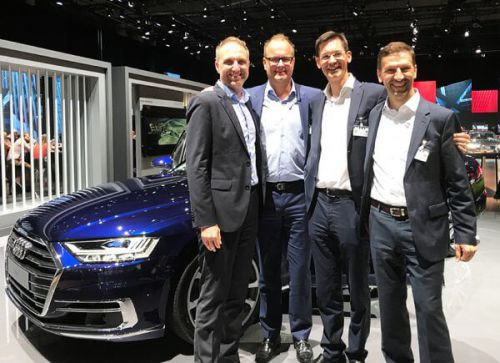 managers from Audi and TTTech