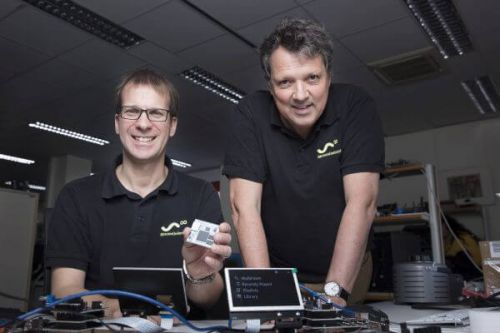 Markus Rutz (CTO) and Frits Wittgrefe (CEO) of StreamUnlimited