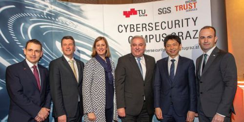 opening ceremony of the Cybersecurity Campus Graz