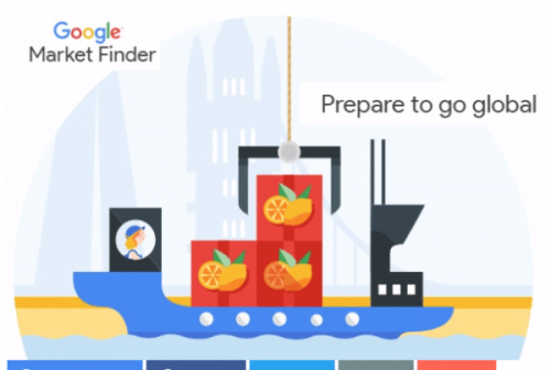 Illustration Google Market Finder