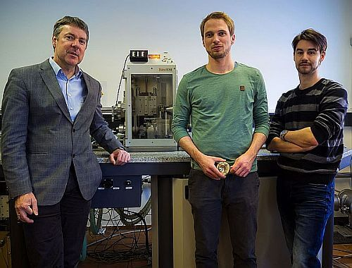 team of researchers at Leoben university
